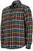 Marmot M's Fairfax Flannel LS Shirt Dark Indigo